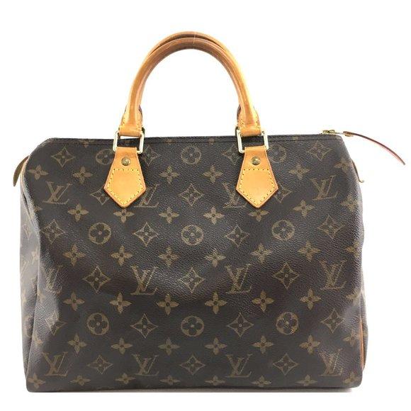 Louis Vuitton Speedy 30 Boston Brown Stachel